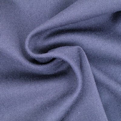 87 ATY Polyester 13 Spandex Single Jersey Fabric