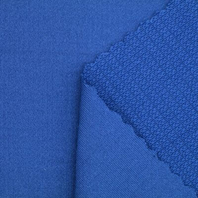 Mechanical Wicking Polyester Spandex Knit Fabric