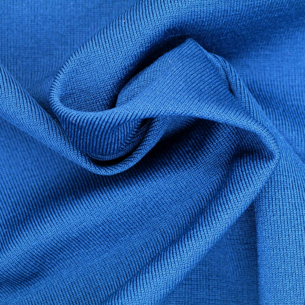 Polyester T400 Mechanical Stretch Jersey Fabric