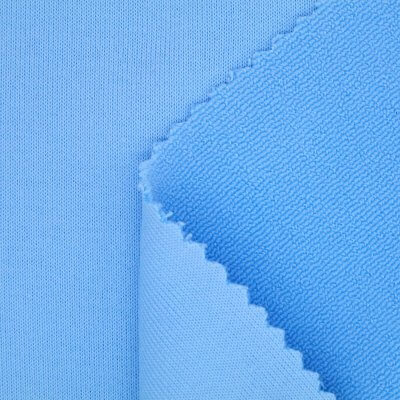 Polyester Spandex Terry Anti-Pilling Finish Fabric