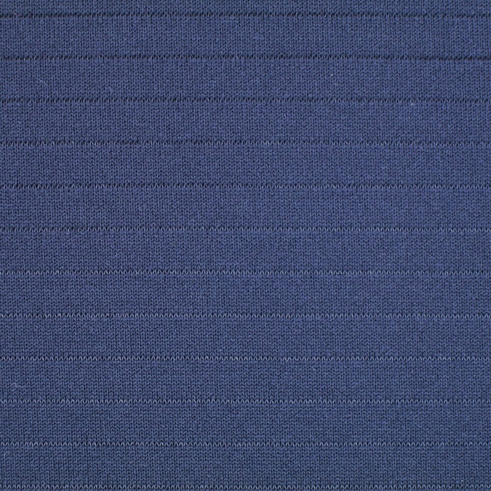 Polyester Spandex Thick Double Jacquard Fabric