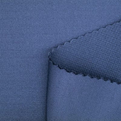 Double Jacquard Mesh Interlock Wicking Fabric