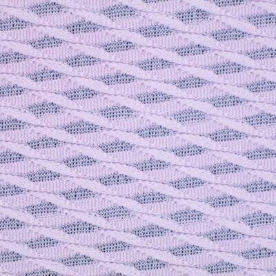 96 Polyester 4 Spandex 3D Diamond Mesh Jacquard