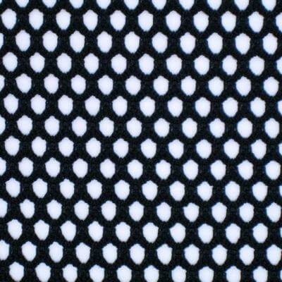 Polyester Spandex Big Hole Jacquard Mesh Fabric