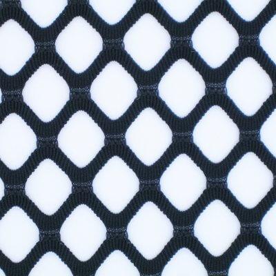聚脂纖維 彈性纖維 菱形大網洞提花布