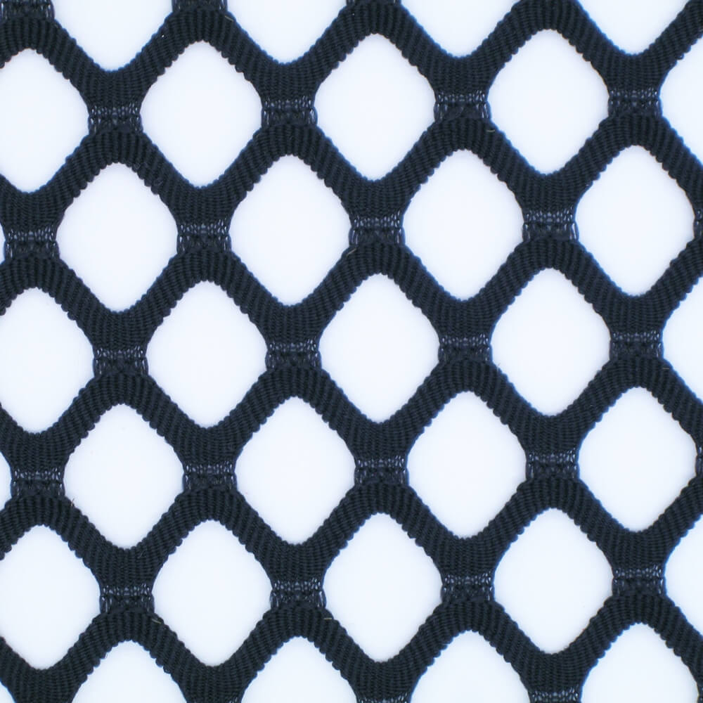 88%Polyester 12%Spandex Big Diamond Mesh Fabric