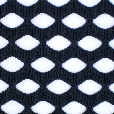 聚脂纖維 大菱形洞 提花針織網布