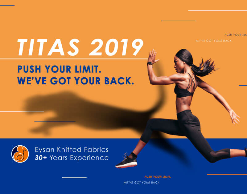 "EYSAN for TITAS 2019 – ""Push your limit. We've got your back."""