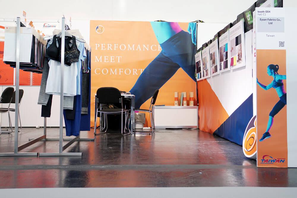 Performance day 2018 - Eysan Fabrics-booth