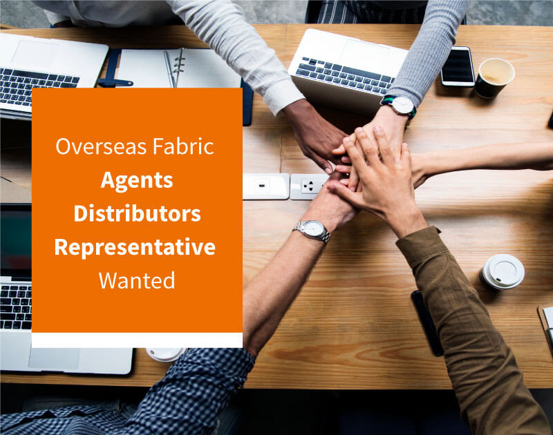 Overseas Fabric Agents, Distributors, Representatives Wanted for Eysan Fabrics
